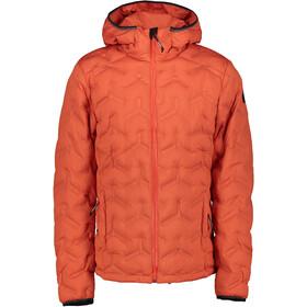 Icepeak Damascus Jacket Men, rood